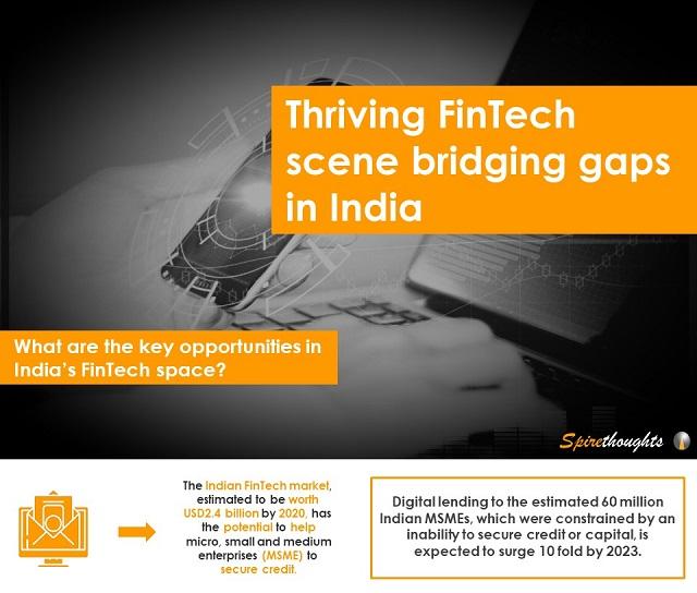 Thriving FinTech scene bridging gaps in India