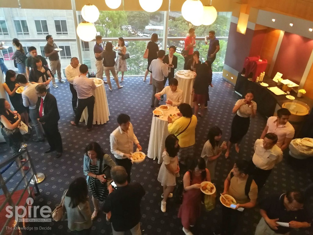 Spire hosts first Client Entertainment Night of the year