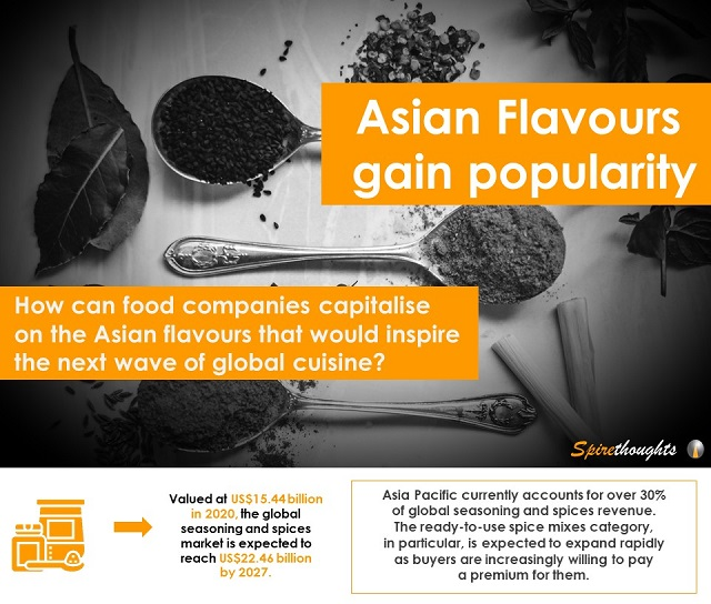 Asian Flavours gain popularity