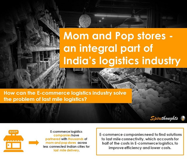 Mom and Pop stores – an integral part of India's logistics industry