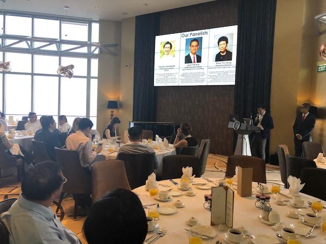 Spire, Yamada Consulting Group (YCG) and SPEEDA organized a seminar