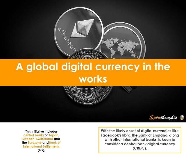 A global digital currency in the works