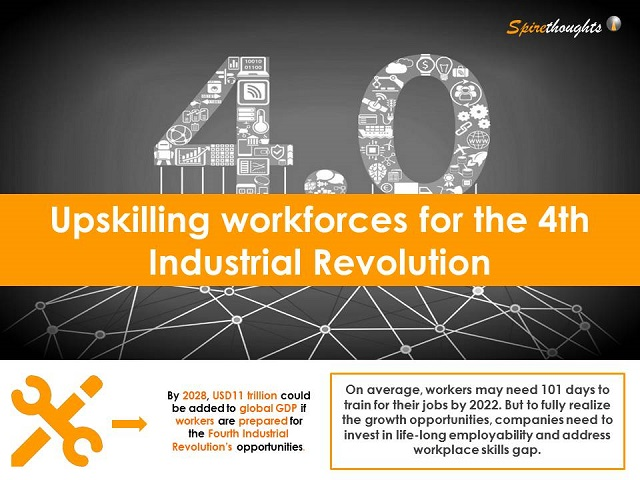 Upskilling workforces for the 4th Industrial Revolution