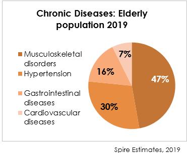 Chronic Diseases: Elderly Population 2019