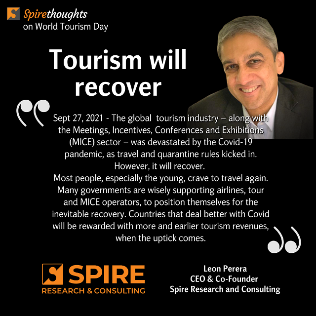 Tourism will recover