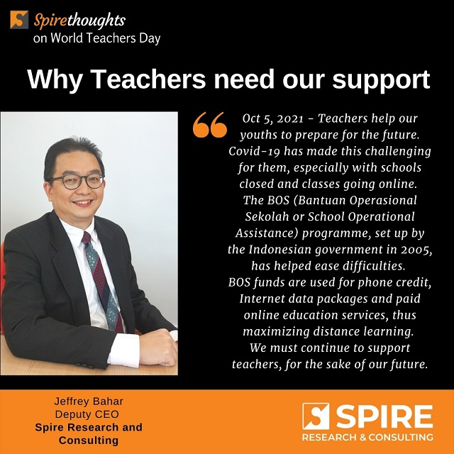Why Teachers Need our Support